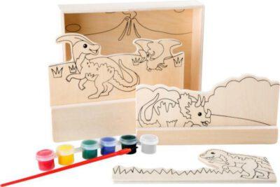 Kleurplaten Dinosaur.Houten Kleurplaten Dinosaur
